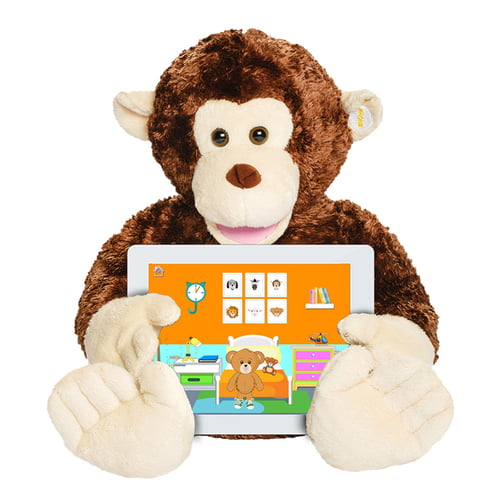 Bluebee Pals Parker The Talking Monkey