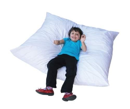 Giant Floor Pillow 4 X 4 ft X 12 in Foam
