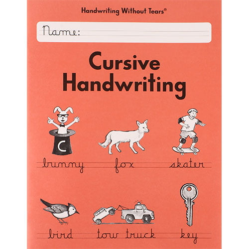 BOOK CURSIVE HANDWRITING