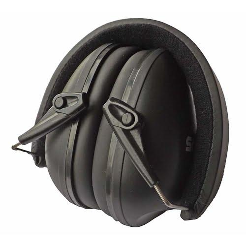 Snug Earmuffs Hearing Protectors Black Folded