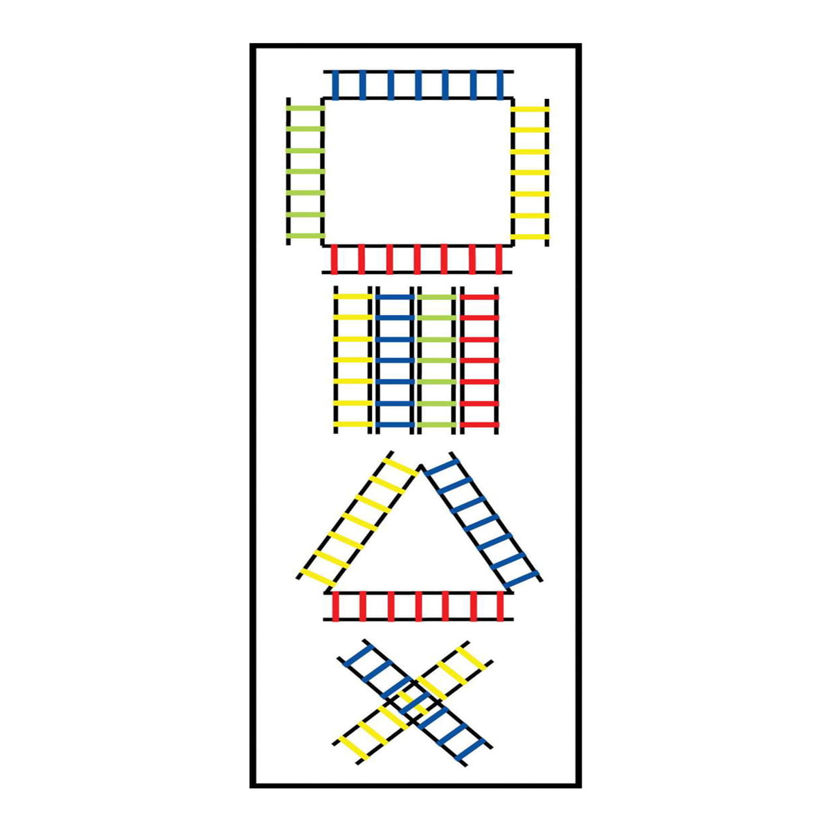 Ladder Agility Set Of 4
