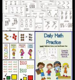 Adapting Math Worksheets! » Autism Adventures [ 1024 x 791 Pixel ]