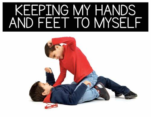 small resolution of Keeping My Hands and Feet to Myself: Behavior Basics » Autism Adventures