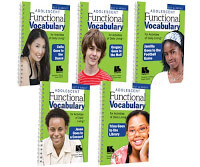 Functional Vocabulary for Daily Living Skills Books