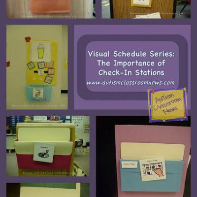 Visual Schedule Series: The Importance of Check-In Stations