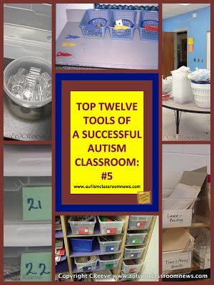 Top Twelve Tools of a Successful Autism Classroom #5