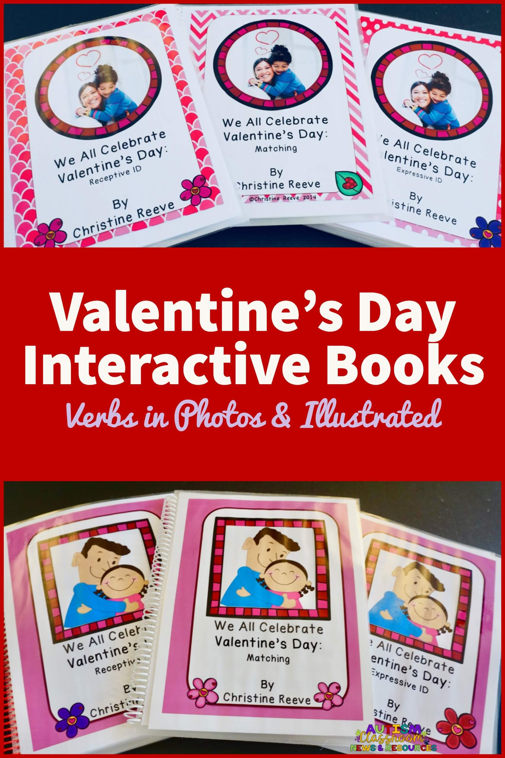 Valentine S Day Interactive Books Verbs In Photos And Illustrated