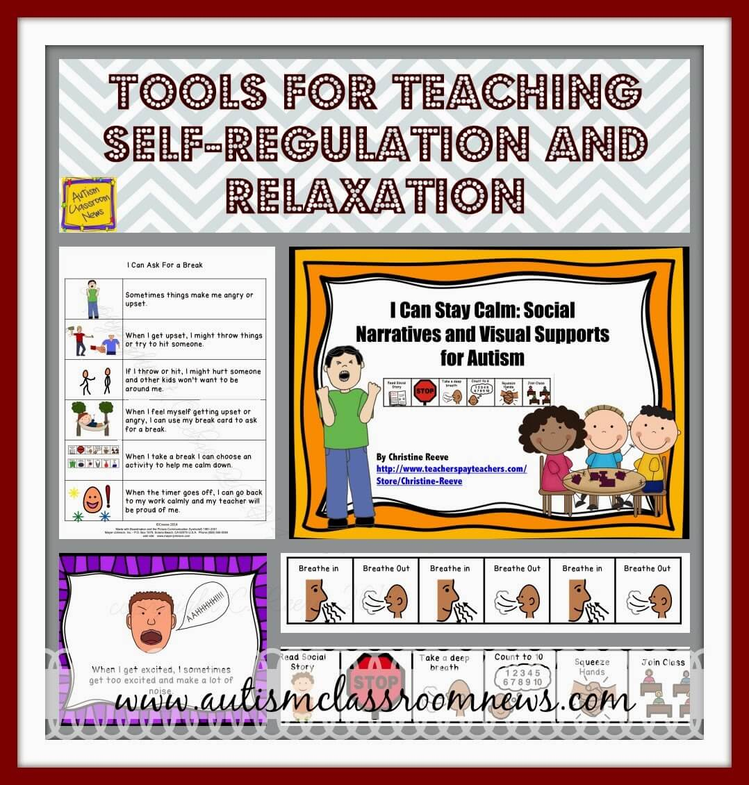 Tools For Teaching Self Regulation And Relaxation