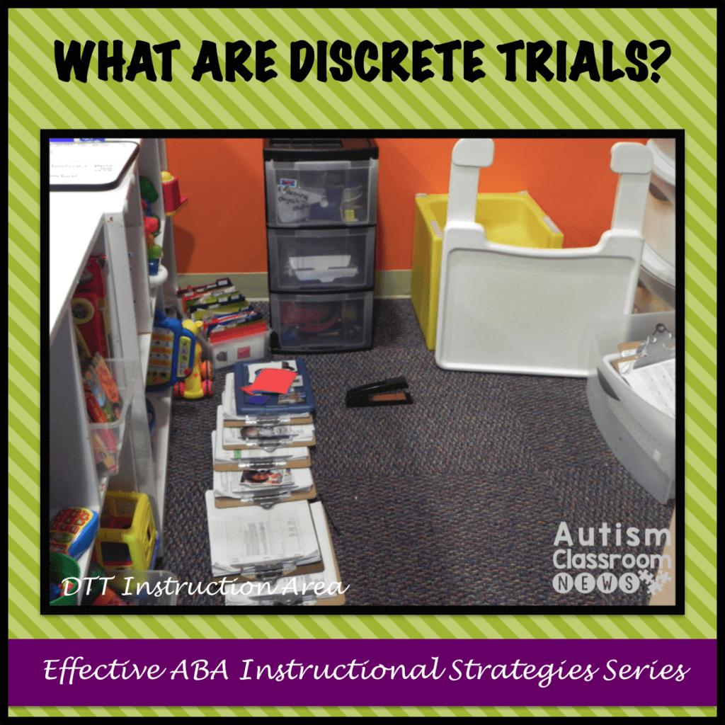 What Are Discrete Trials