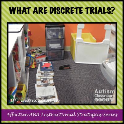What Are Discrete Trials?