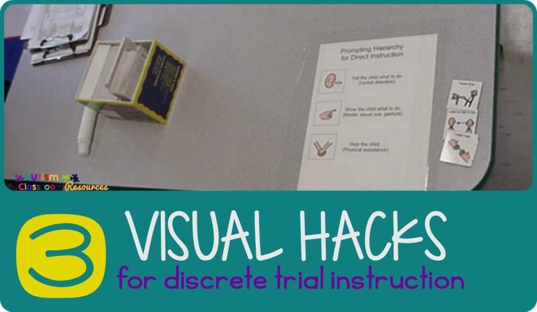 3 Visual Hacks for ABA Instruction