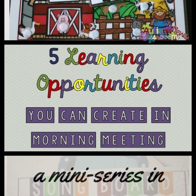 5 Incidental Teaching Opportunities During Morning Meeting