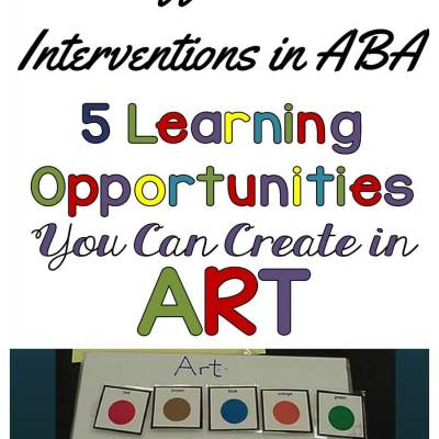 5 Incidental Teaching Opportunities During Art