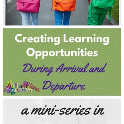 5 Incidental Teaching Opportunities During Arrival-Departure