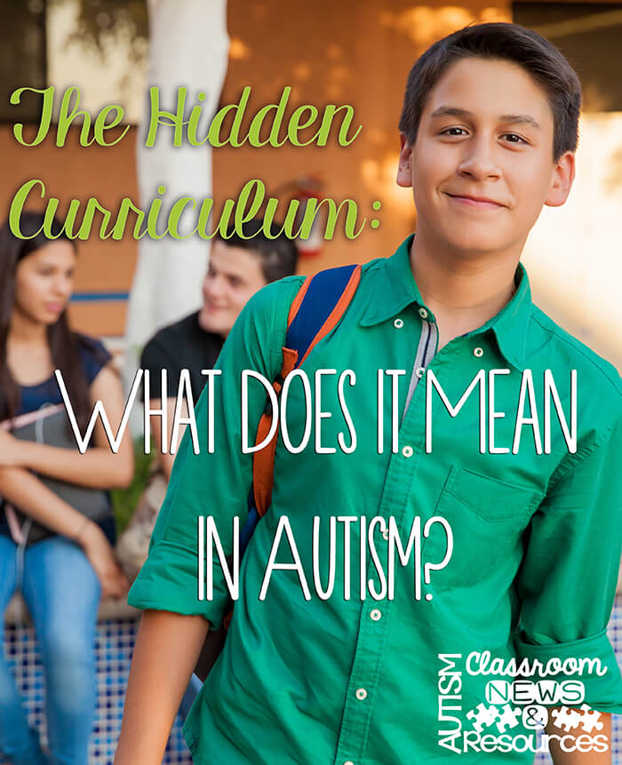 The Hidden Curriculum in Autism