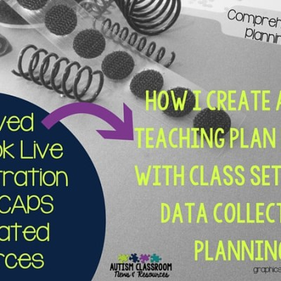 How I Use a Comprehensive Autism Planning System: Video Demonstration and Discussion