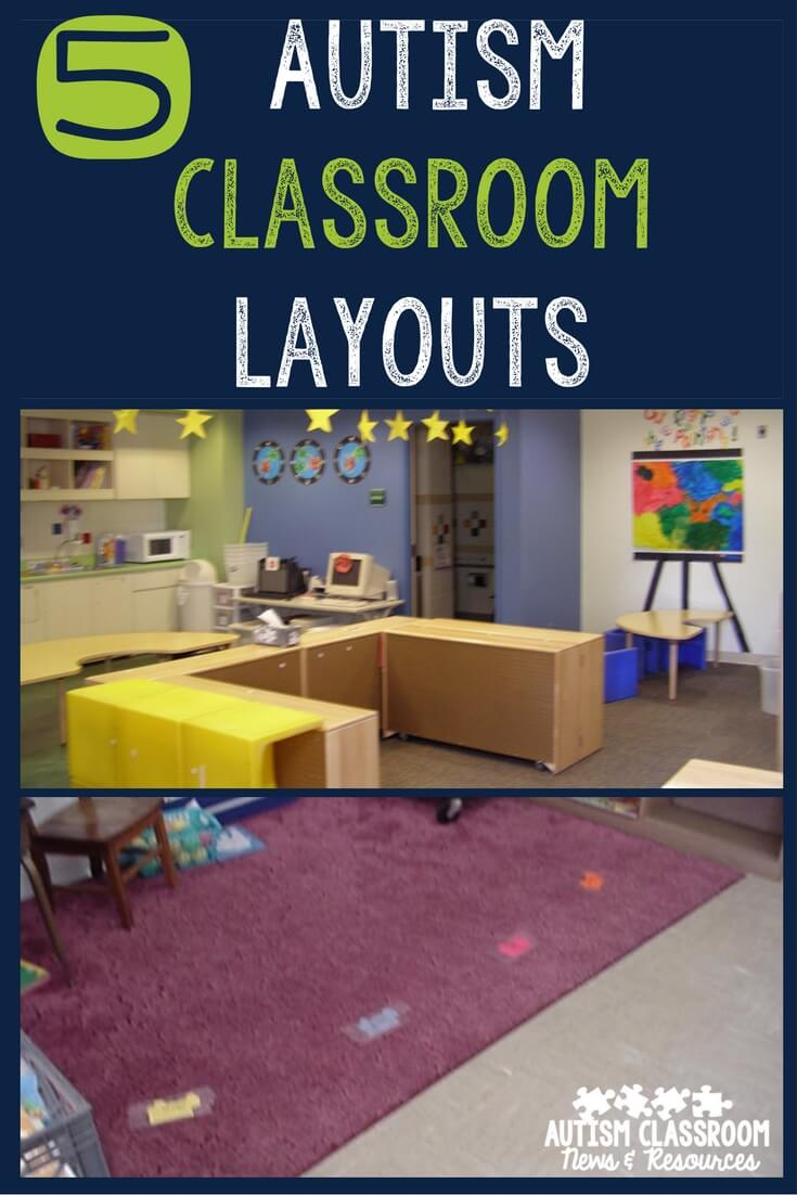 Classroom Design For Blind Students ~ Autism classroom layouts tips to create your own