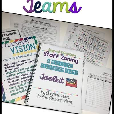 A Toolkit to Help You Build Classroom Teams and Schedule Staff