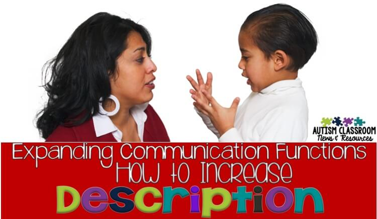Expanding Communication Functions: How to Increase Description