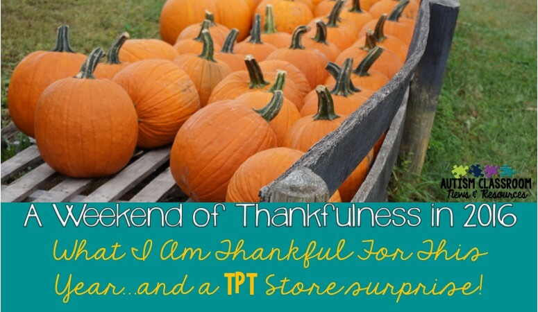 A Weekend of Thankfulness: Don't Miss the Surprise!!