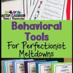 Behavioral Tools for Perfectionists' Meltdowns