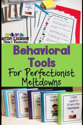 Do you have students with autism who need to learn appropriate coping strategies to avoid overreacting if they make a mistake?  Social stories, contingency maps, and size of my problem scales can help students learn better ways to manage their own behavior.  This post describes these tools and how they can be used.