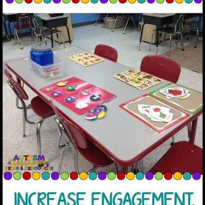 Table Tasks: Increase Engagement at Waiting Times