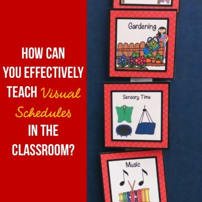 How Can You Effectively Teach Visual Schedules?