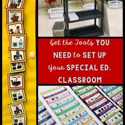 Setting Up Special Ed Classrooms-The Tools You Need