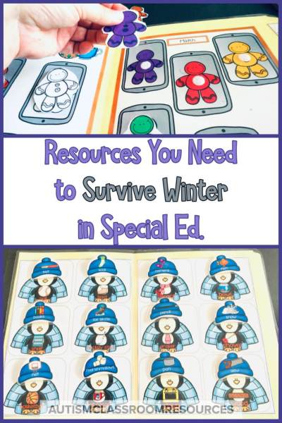 Winter resources that you can switch out to shake things up a bit can be essential in a special education classroom to get students engaged. Read this post for some language and independent resources that will help you stay out of the winter doldrums.