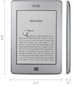Amazon Kindle Touch Specs