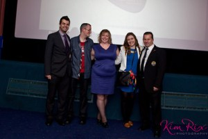 Kevin Healey, Hayley Smith, Dave Gentry, Dawn Lowe and Steve Cranston credit Kim Rix, Founder, Kim Rix photography