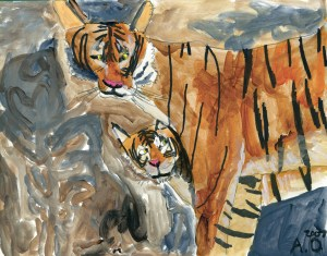 'Tiger' copyright 'The Art of Autism'