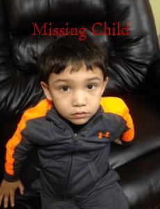 Emmanuel Menz aged 3