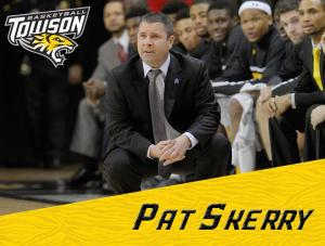 Pat Skerry, image taken from the Towson Men's Basketball Facebook page