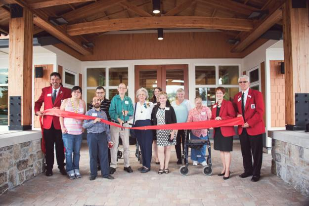Ribbon Cutting at Stephen's Place
