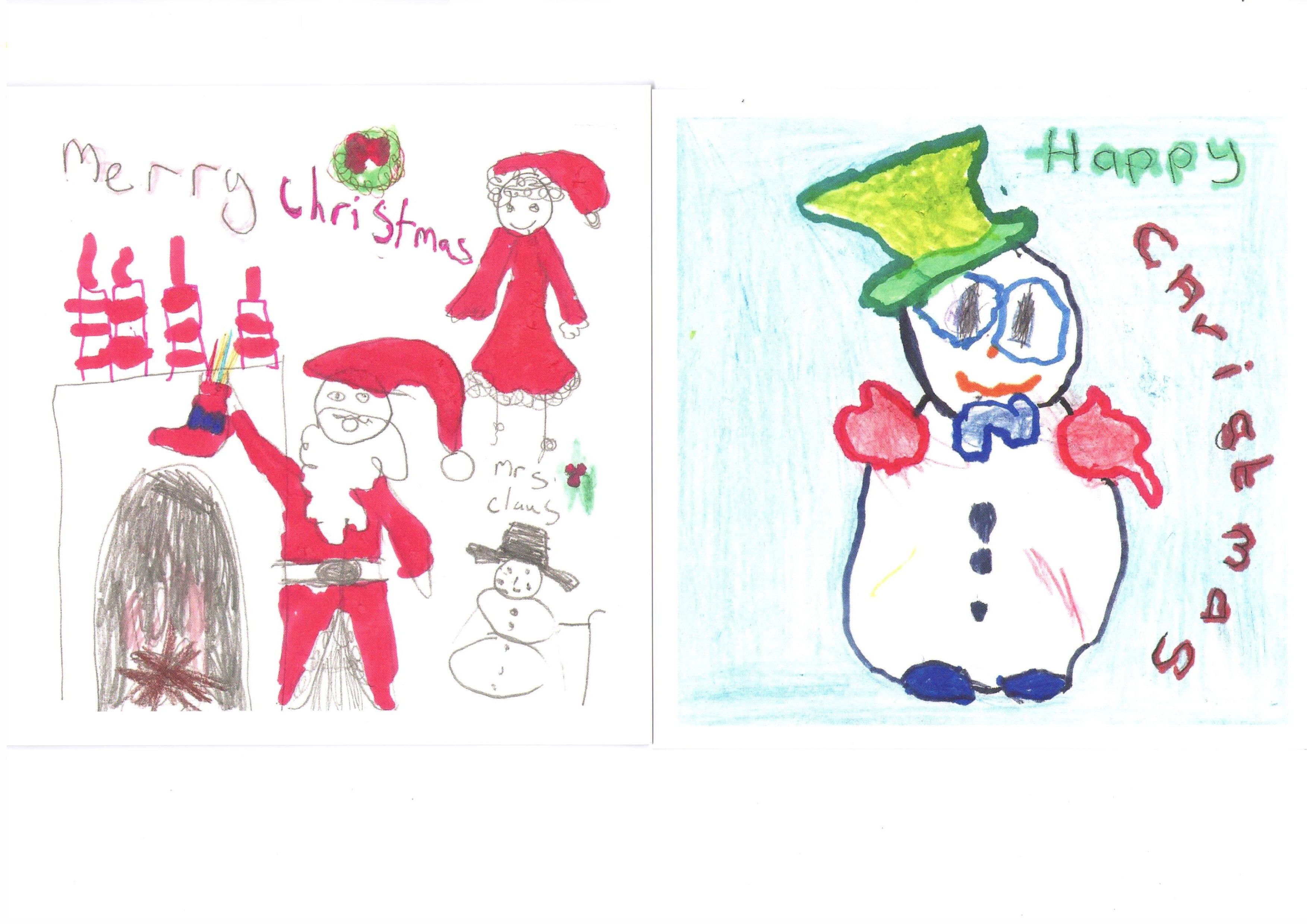 Christmas Cards Autism Guernsey