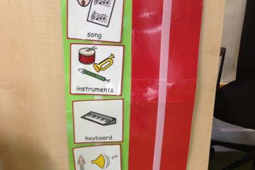 how to structure a music lesson for children with autism