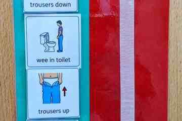 toilet training toilet schedule visual support autismspectrumteacher.com