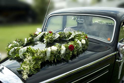 Hochzeit Autoaufkleber von AutoAufkleberde