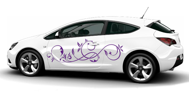 AutoAufkleberde  Kreative Autoaufkleber als Autotattoo