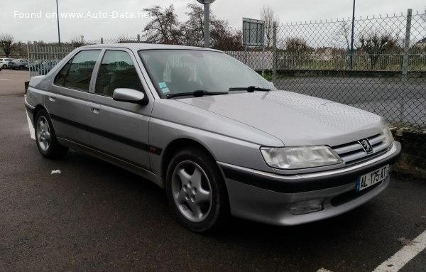 1989 Peugeot 605 6b 2 0 121 Hp Technical Specs Data Fuel Consumption Dimensions