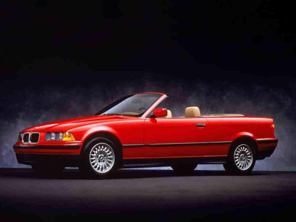 medium resolution of bmw s rie 3 e36 cabriolet usa 1993 1996 photo bmw