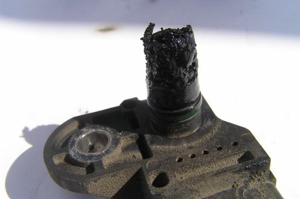 Nagar maź na czujniku ciśnienia Vectra C 2.2 DTI