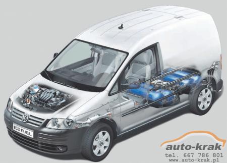 VW Caddy CNG