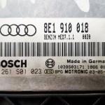 Usuwanie klap kolektora w Audi A4 2.0 FSI