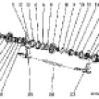 wałek dolny biegi 1,2 i 5,6
