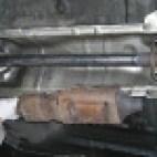 wycięcie filtra dpf meriva