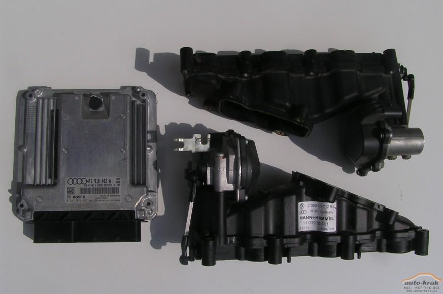 Usunięcie klap kolektora w silnikach 2.7 i 3.0 TDi - Audi i VW