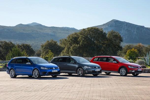 Volkswagen Golf R Variant Golf GTD Variant und Golf Alltrack